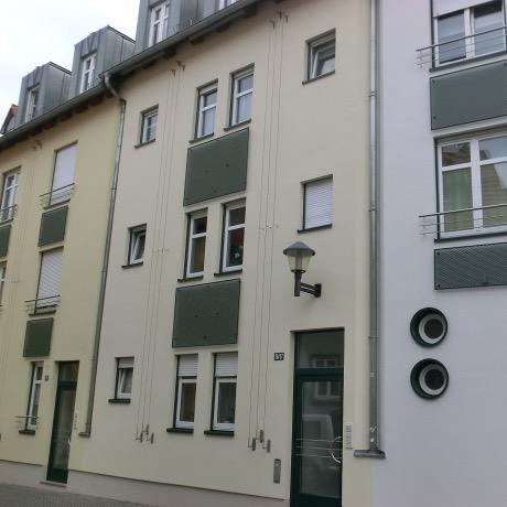 Referenz: Erfurt-Altstadt (nähe Dom)<br />1997&nbsp;-&nbsp;Neubau Eigentumswohnungen<br />Areal ca. 678&nbsp;m² • Wohnfläche ca. 1200&nbsp;m²